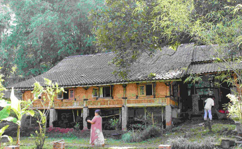 Rumah Bambu Karya Anak Bangsa Yang Mendunia