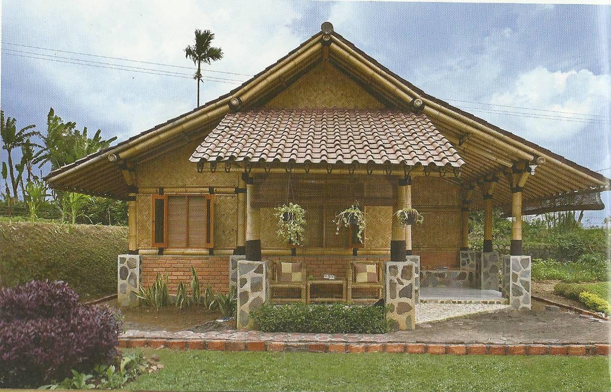 Rumah Bambu Standar