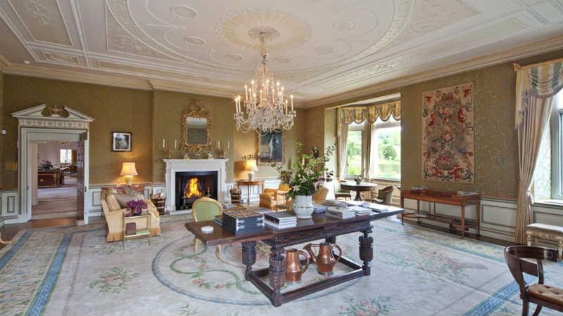 gaya klasik rumah david beckham